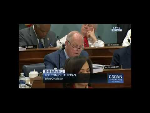 O'Halleran: 2018 Farm Bill Doesn't Come Close to Helping Rural Communities