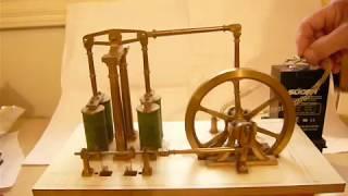 Moteur électro-magnétique Bourbouze : premier essai.