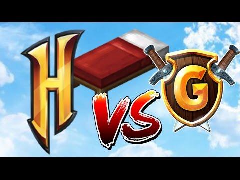 HYPİXEL Vs GommeHD (Hangisi Daha İyi) !!! Minecraft: BED WARS