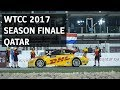 WTCC 2017 season finale in Qatar with Tom Coronel