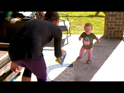 Hazel is THIS CLOSE to Taking Her First Steps! Can She Do It?  OutDaughtered