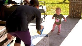 Hazel is THIS CLOSE to Taking Her First Steps! Can She Do It? | OutDaughtered