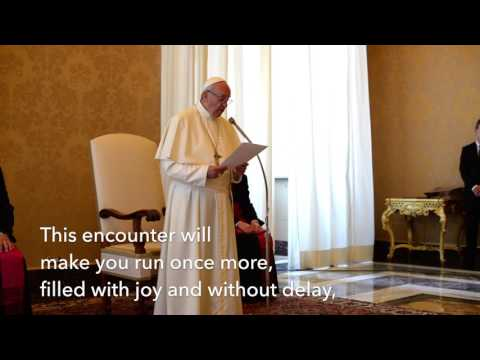 Pope Francis Speaks to Resurrectionists