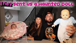 THEY SENT US A HAUNTED DOLL & THINGS STARTED TO GET WEIRD ft SHADIA & RANIA SARGI