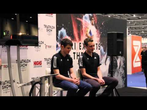 Triathlon Show: London 2015 - The Brownlee Brothers