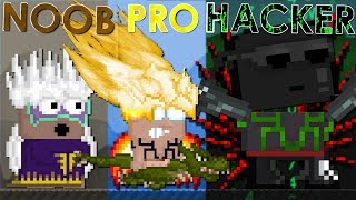 NOOB vs PRO vs HACKER - Growtopia