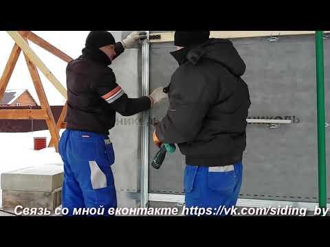 Обрешетка как правильно устаноаить под фасадные панели на стены дома из газосиликата