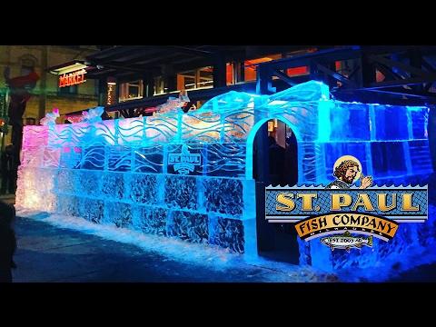 so cool st paul fish company ice bar 3rd ward st paul