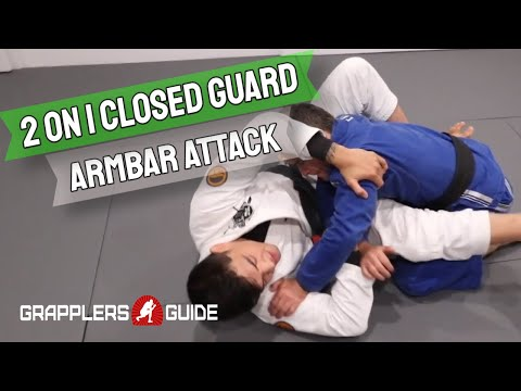 Michael Liera Jr. - Two On One Closed Guard Armbar Attack