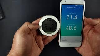Xiaomi Bluetooth Thermostat Temperature Humidity Monitor