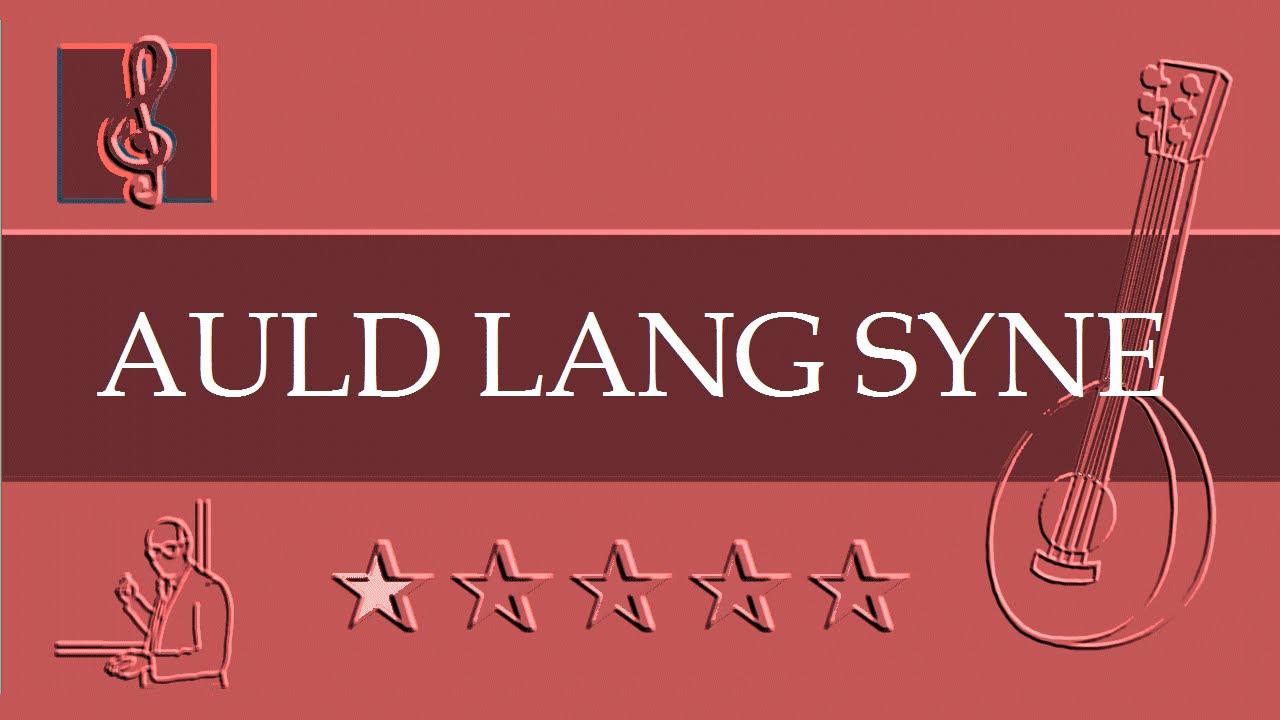 Mandolin Notes Tutorial Auld Lang Syne Sheet Music Guitar