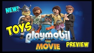 First Look at Playmobil The Movie Toys! Unicorns! Porsche! Parachutes! Castles! Coming this Summer!