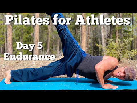 Pilates For Athlete Endurance and Cardio Training For Men and Women with Sean Vigue Fitness