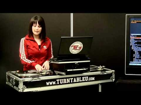 TurntableU.com Lesson - DJ Shortee - Intro / Mixing Basics / Baby Scratch