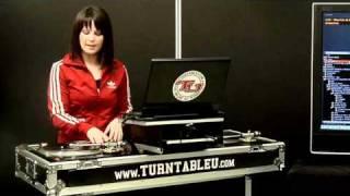 TurntableU.com Lesson - DJ Shortee - Intro / Mixing Basics / Baby Scratch