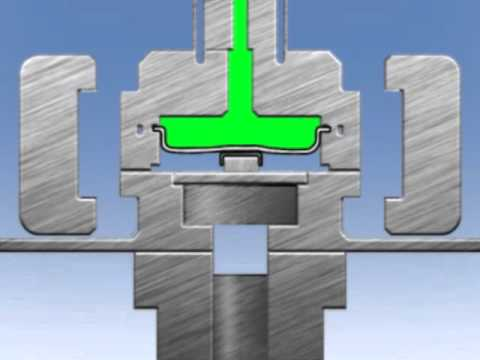 Triform Sheet Hydroforming Fluid Cell Press Animation