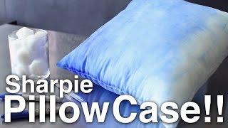 DIY Sharpie Pillow Case!!