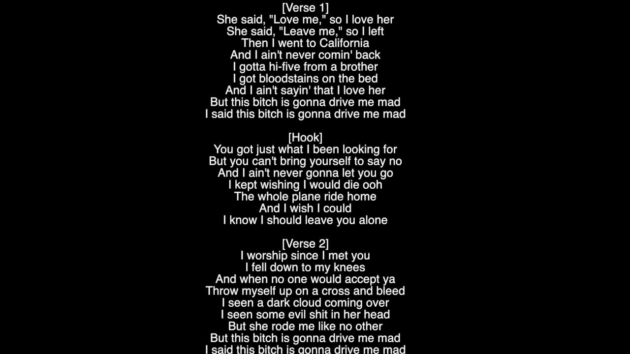 drive by lyrics lil peep