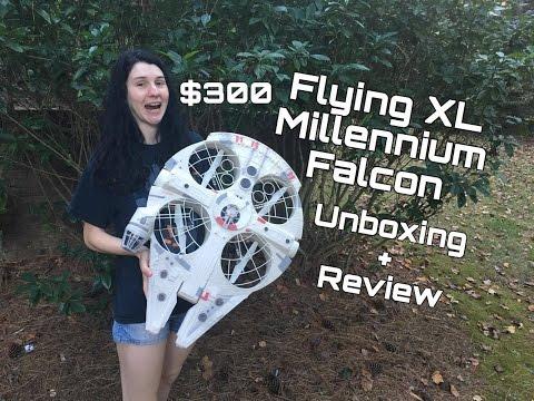 Review: The Millennium Falcon XL Quadcopter ( $300 MSRP!!! )