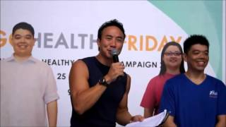 Fly hosts: allan wu - hpb healthy lifestyle campaign 2013