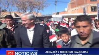 ALCALDÍA Y GOBIERNO INAUGURAN LA CASA DE EDUCACIÓN