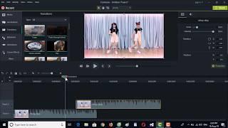 Tạo chuyển cảnh đẹp bằng hiệu ứng lớp phủ video trong Camtasia 9