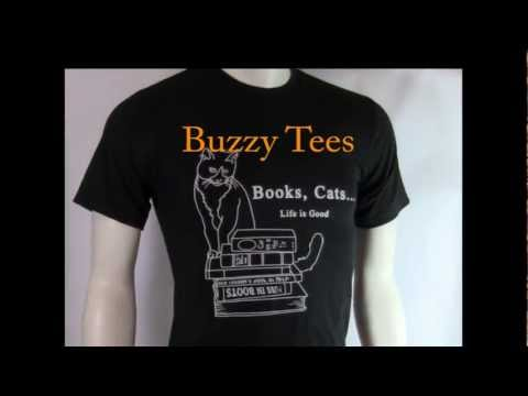 Books, Cats .. Life Is Good Shirt