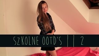 Berry Fashion || Szkolne OOTD's | 2
