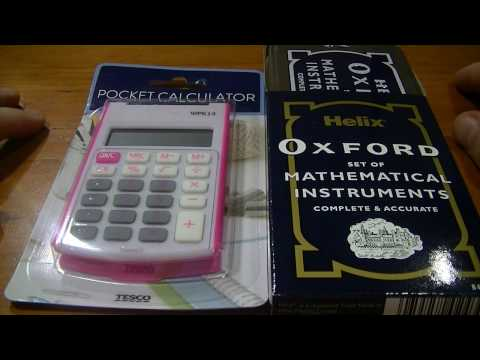 ASMR Maths Class Nostalgia