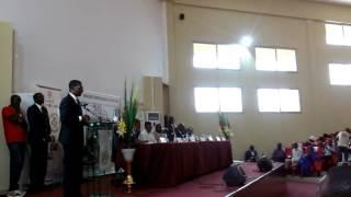 Marie Teuw Niane: Ministre de l'Enseignement Superieur du Senegal