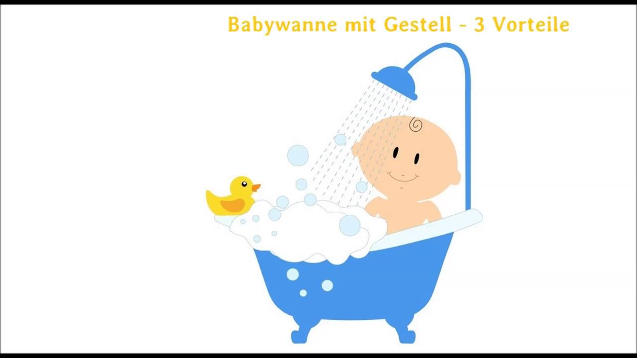 babybadewanne mit gestell 3 vorteile youtube. Black Bedroom Furniture Sets. Home Design Ideas