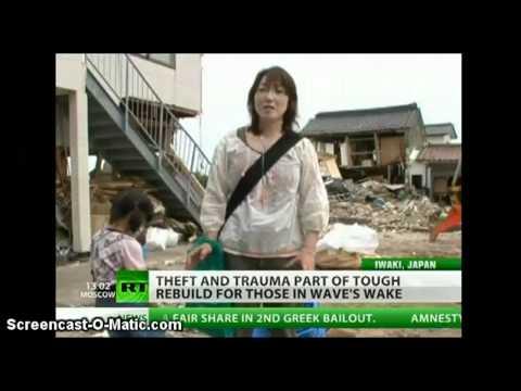 45% CHILDREN of Iwaki and other cities TEST POSITIVE THYROID RADIATION EXPOSURE Fukushima Japan