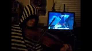 Smosh - Ultimate Assassins Creed 3 Song - Violin Cover (Bonus Video)