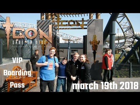 ICON VIP Boarding Pass Day May 19th 2018