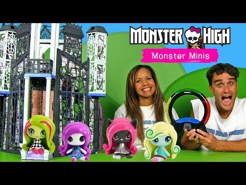 Monster High Minis Simon Air Game Blind Bag Show
