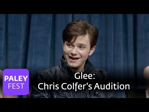 Glee - Colfer's Audition, Puck and Rachel, and more (Paley Interview)