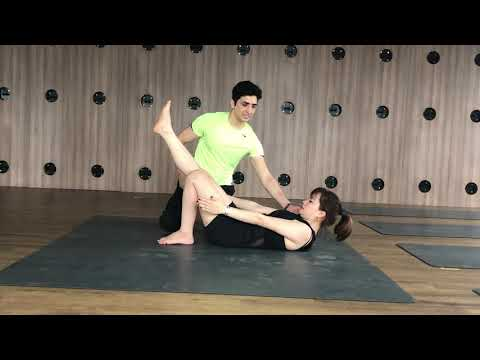 Yoga for slim and fit body and reduce belly fat with Master Ajay in Jai yoga