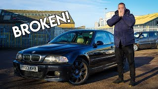 I Bought A HIGH MILEAGE BMW M3 From A CAR AUCTION!