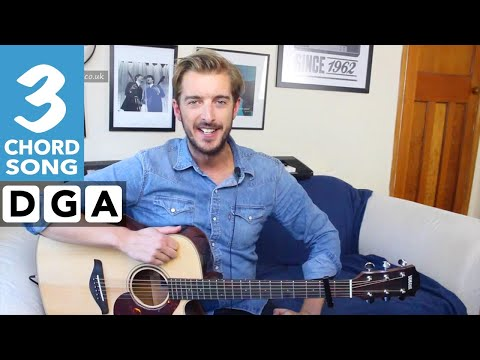 3 Chord Guitar Songs For Beginners- Cheerleader - OMI - EASY Guitar Tutorial