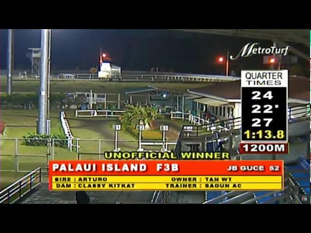 PALAUI ISLAND - FEBRUARY 26, 2020 - MMTCI RACE 3 BAYANG KARERISTA HORSE RACING REPLAY AT METRO TURF
