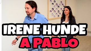 LA VENGANZA DE IRENE MONTERO HUNDE A PABLO IGLESIAS en las Elecciones de Madrid.