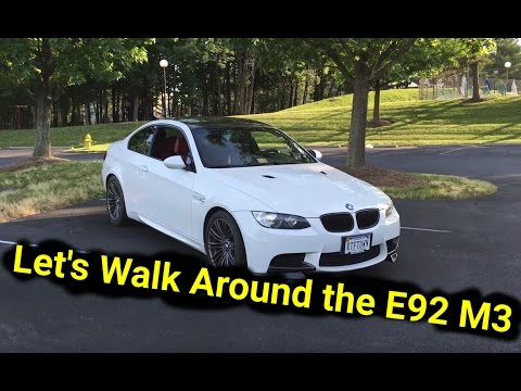 Walk Around of My Cheap 2008 BMW M3