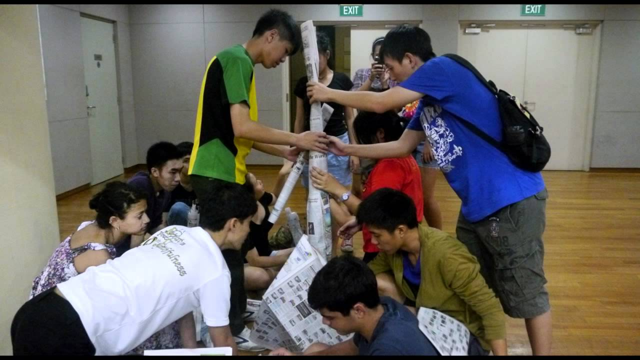 Tallest Paper Tower Team Building