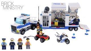 LEGO 60139 CITY ● MOBILE COMMAND CENTER