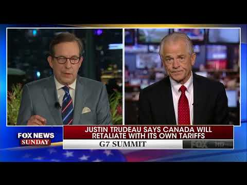 """Trump's top trade advisor Peter Navarro offers Trudeau """"a special place in Hell"""""""