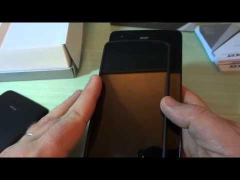 Acer Liquid S1: Video Unboxing del nuovo Phablet Quad Core Dual Sim