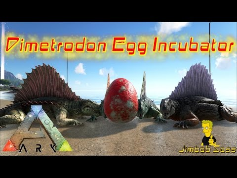ARK: Survival Evolved Dimetrodon Egg Incubator