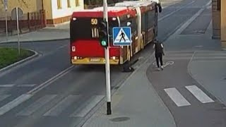 Teen Nearly Gets Hit by Bus After 'Friend' Shoves Her