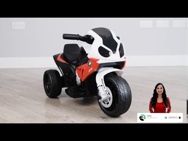 Bmw S1000rr 6v Mini Motorbike Trike 6v Battery Electric Ride On Bike For Kids Youtube