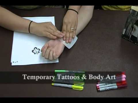 Project Teen #2: Making Temporary Tattoos